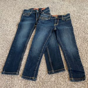 Skinny Jeans 2 Pair Combo Size 6 NWOT